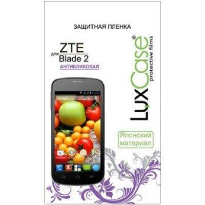 Пленка защитная для смартфонов LuxCase для ZTE BLADE 2 (Антибликовая) (51425)Пленки защитные для смартфонов LuxCase<br>Защитная пленка LuxCase  для ZTE BLADE 2 (Антибликовая)<br>