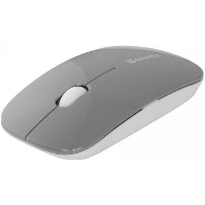 Мышь Defender NetSprinter MM-545 серый (52545)Мыши Defender<br>Defender Беспроводная оптическая мышь NetSprinter MM-545 серый+белый,3 кнопки,1000dpi USB<br>