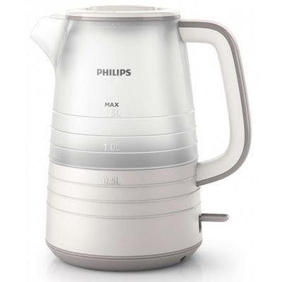 Электрический чайник Philips HD9336/21 белый/бежевый (HD9336/21)Электрические чайники Philips<br>2200 Вт, 1.5 л, материал корпуса: пластик, цвет: белый/бежевый<br>