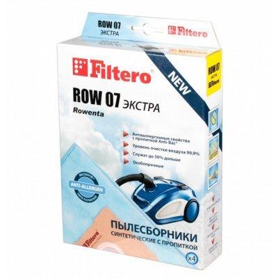 Пылесборник для пылесоса Filtero ROW 07 (4) Экстра (ROW 07 (4) ЭКСТРА)Пылесборники для пылесосов Filtero<br>Пылесборники Filtero ROW 07 Экстра пятислойные<br>