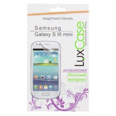 ������ �������� ��� ���������� LuxCase ��� Samsung Galaxy S III mini, i8190 (������������) (80551)