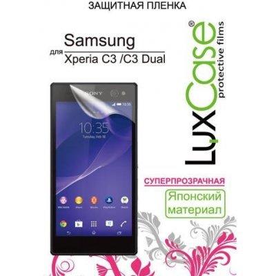 Пленка защитная для смартфонов LuxCase для Sony Xperia C3 / C3 Dual, (Суперпрозрачная) (80656)Пленки защитные для смартфонов LuxCase<br>Защитная пленка LuxCase  для Sony Xperia C3 / C3 Dual, (Суперпрозрачная), 156х78 мм<br>