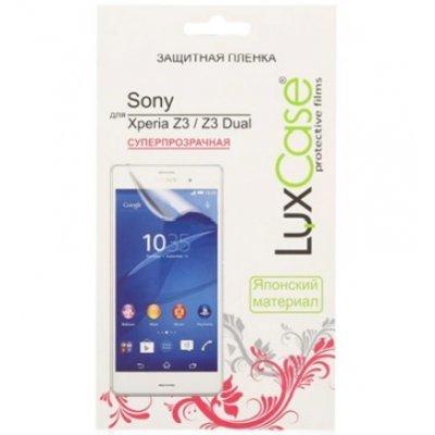 ������ �������� ��� ���������� LuxCase ��� Sony Xperia Z3/Z3 Dual, (���������������) (80662)