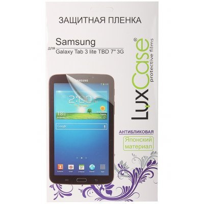 Пленка защитная для планшетов LuxCase для Samsung Galaxy Tab 3 lite TBD 7 (Антибликовая) (80990)