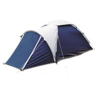 Палатка Bergen Sport 2х местная Super Mono-1 синий/серый (SUPER MONO-1 (синий/серый))Палатки Bergen Sport<br>трекинговая палатка, 2-местная, однослойная, внешний каркас, дуги из стеклопластика, один вход / одна комната, невысокая водостойкость, вес: 3.31 кг<br>