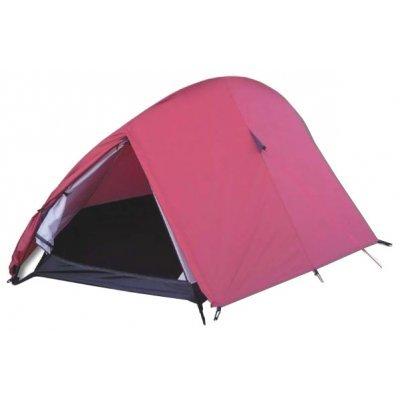 Палатка Bergen Sport 2х местная Uno-2 вишнёвый/чёрный (UNO-2 (вишнёвый/чёрный))Палатки Bergen Sport<br>палатка трекинговая, 2-местная<br>двухслойная, геометрия: нестандартная<br>внутренний каркас, дуги из стеклопластика<br>один вход / одна комната<br>вес 2.40 кг<br>водостойкость тента: 2000 мм в.ст<br>водостойкость дна: 2000 мм в.ст<br>внешние размеры (ДхШхВ) 260х150х100 cм<br>