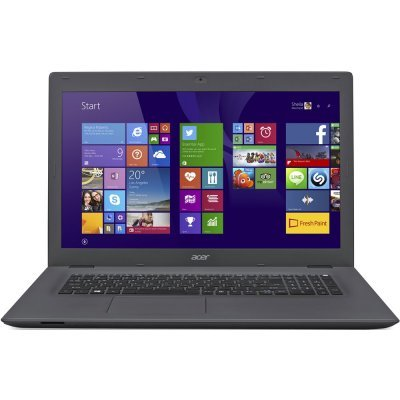 Ноутбук Acer Aspire E5-772G-31T6 (NX.MV8ER.006) (NX.MV8ER.006)Ноутбуки Acer<br>17.3 1600x900, Intel Core i3-5005U 2.0GHz, 4Gb, 1Tb, DVD-RW, NVidia 920M 2Gb, WiFi, Win10, черный/серый<br>