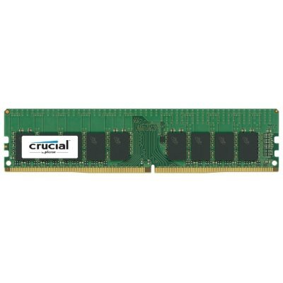 Модуль оперативной памяти ПК Crucial CT16G4WFD824A 16Gb DDR4 (CT16G4WFD824A)Модули оперативной памяти ПК Crucial<br>1 модуль памяти DDR4<br>объем модуля 16 Гб<br>форм-фактор DIMM, 288-контактный<br>частота 2400 МГц<br>поддержка ECC<br>CAS Latency (CL): 17<br>