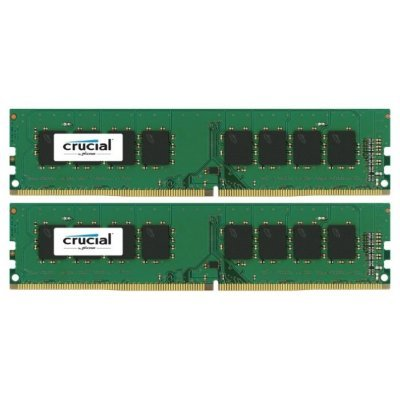 Модуль оперативной памяти ПК Crucial CT2K8G4DFS8213 16Gb DDR4 (CT2K8G4DFS8213)Модули оперативной памяти ПК Crucial<br>Crucial  16GB Kit (8GBx2) DDR4 2133 MT/s (PC4-17000) CL15 DR x8 Unbuffered DIMM 288pin Single Rank<br>