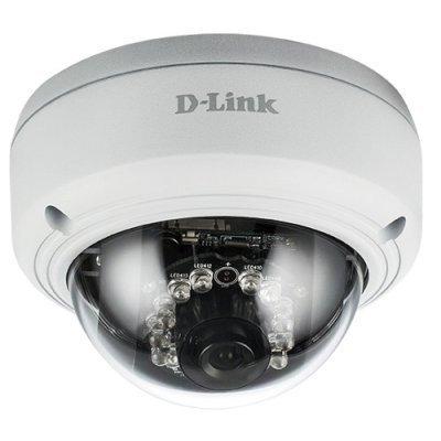 Камера видеонаблюдения D-Link DCS-4602EV/UPA/A1A (DCS-4602EV/UPA/A1A)Камеры видеонаблюдения D-Link<br>Внешняя купольная антивандальная сетевая 2 МП Full HD-камера с поддержкой WDR, PoE и ночной съемки<br>