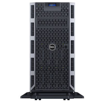 Сервер Dell PowerEdge T330 (210-AFFQ/001) (210-AFFQ/001)Серверы Dell<br>E3-1225v5 (3.3GHz, 4C), 8GB (1x8GB) UDIMM, No HDD (up to 8x3.5), PERC H330, DVD-RW, Broadcom 5720 DP 1GB LOM, iDRAC8 Enterprise, PSU (1)*495W up to RPS, Bezel, 3Y Basic NBD<br>