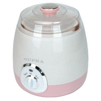 Йогуртница Supra YGS-7001 розовый/белый (10349)
