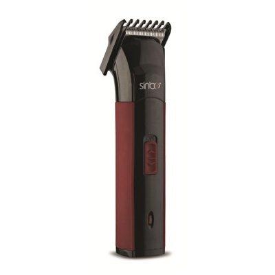 Машинка для стрижки Sinbo SHC 4365 черный/красный (SHC 4365)Машинки для стрижки Sinbo<br>Триммер Sinbo SHC 4365 черный/красный (насадок в комплекте: 1шт)<br>