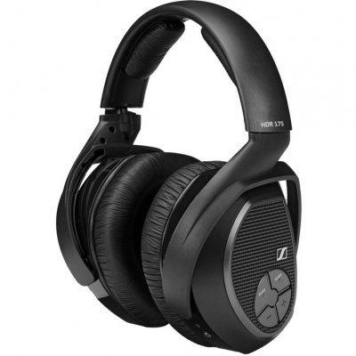 Bluetooth-гарнитура Sennheiser RS 175 (RS175)Наушники Sennheiser<br>беспроводные мониторные наушники регулятор громкости чувствительность 114 дБ вес 310 г<br>