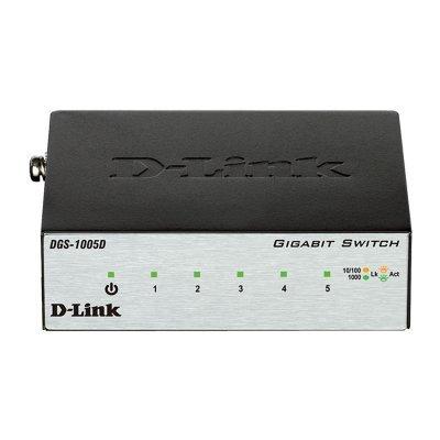Коммутатор D-Link DGS-1005D/I2A (DGS-1005D/I2A) коммутатор d link dgs 1008p c1a коммутатор чер