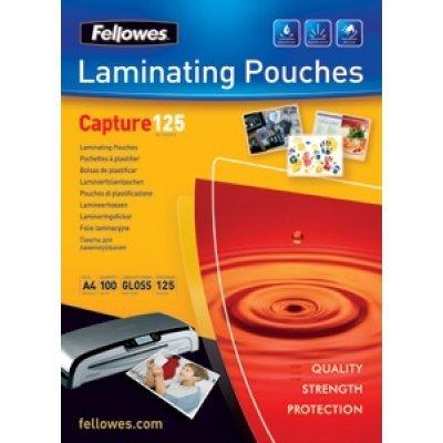 Пленка для ламинирования Fellowes FS-53073 (FS-53073)Пленки для ламинирования Fellowes<br>Плёнка для ламинирования Fellowes А5 (53073) 154х216 мм, 125 мкм, 100 шт.<br>