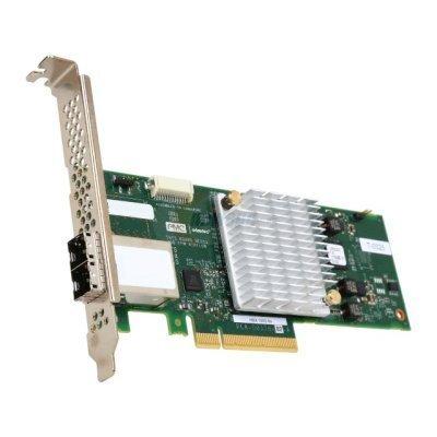 Контроллер SAS Adaptec 2288100-R (2288100-R)Контроллеры SAS Adaptec<br>Рейдконтроллер SAS PCIE HBA 1000-8E 2288100-R ADAPTEC<br>
