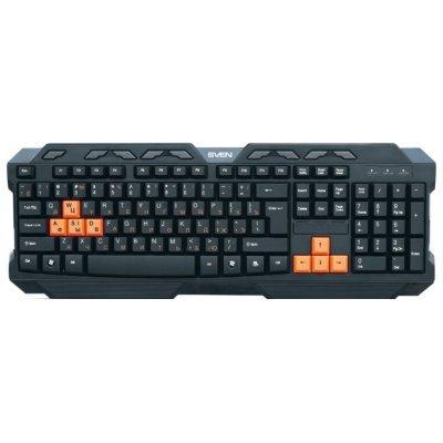 Клавиатура SVEN Challenge 9700 чёрная (SV-008369) клавиатура проводная sven sv 0310