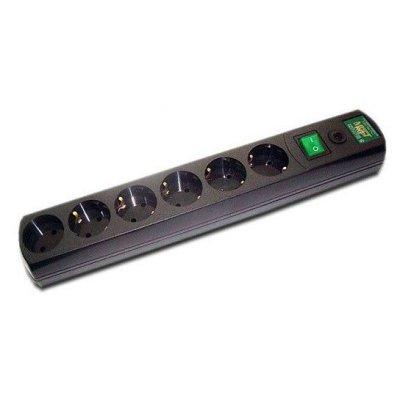 Сетевой фильтр Most RG 5м (МОSТ RG-Ч 5м)Сетевые фильтры Most<br>Сетевой фильтр Most RG 5м черный 6 розеток<br>