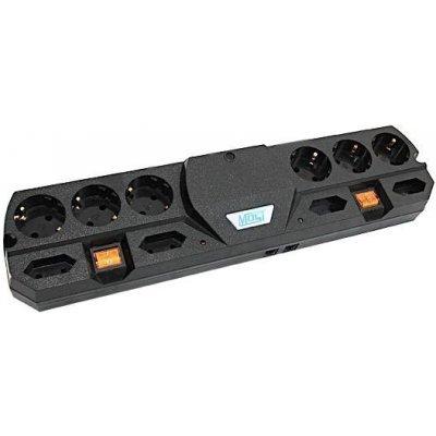 Сетевой фильтр Most THV 5м (MOST THV-ч-5 м)Сетевые фильтры Most<br>Сетевой фильтр Most THV 5м черный 10 розеток<br>