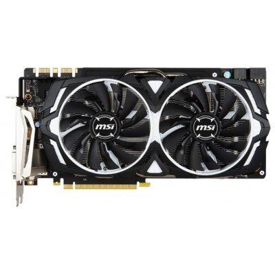 Видеокарта ПК MSI GeForce GTX 1080 1657Mhz PCI-E 3.0 8192Mb 10010Mhz 256 bit DVI HDMI HDCP (GTX1080ARMOR8GOC)Видеокарты ПК MSI<br><br>