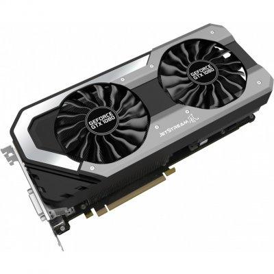Видеокарта ПК Palit GeForce GTX 1080 1607Mhz PCI-E 3.0 8192Mb 10000Mhz 256 bit DVI HDMI HDCP JetStream (NEB1080015P2-1040J)