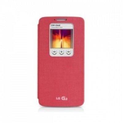 Чехол для смартфона LG для D618 QuickWindow розовый (CCF-370.AGRAPK) (CCF-370.AGRAPK)Чехлы для смартфонов LG<br>Для LG G2 mini D618. Розовый. Поликарбонат.<br>