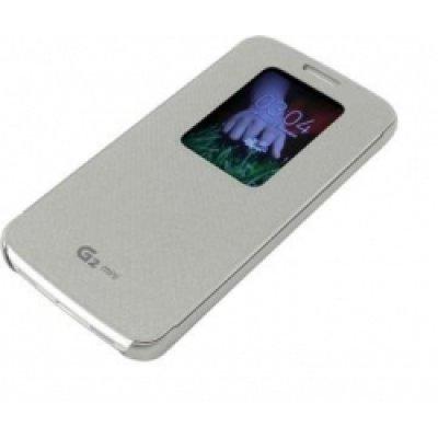 Чехол для смартфона LG для D618 QuickWindow серебристый (CCF-370.AGRASV) (CCF-370.AGRASV)Чехлы для смартфонов LG<br>Для LG G2 mini D618. Серебристый. Поликарбонат.<br>