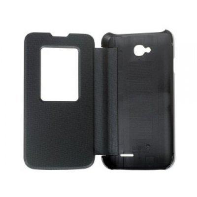 Чехол для смартфона LG для L70 D325 QuickCircle черный (CCF-405G.AGRABK) (CCF-405G.AGRABK)