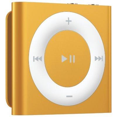 Медиаплеер Apple iPod shuffle 2GB золотистый (MKM92RU/A)Цифровые плееры Apple<br>цифровой плеер, 2 Гб<br>без экрана<br>время работы 15 ч<br>вес 13 г<br>металлический корпус<br>
