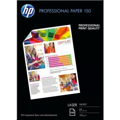 Бумага для принтера HP Professional Laser Paper 150 gsm-150 sht/A4/210 x 297 mm (CG965A)Бумага для принтера HP<br>Professional Laser Paper 150 gsm-150 sht/A4/210 x 297 mm<br>