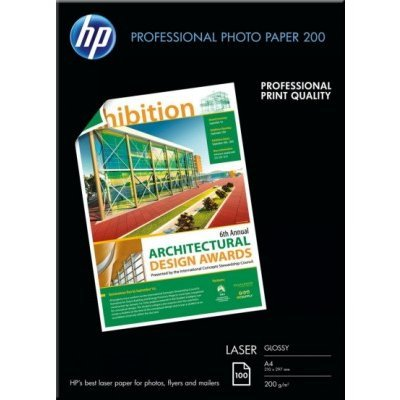 Бумага для принтера HP Professional Glossy Laser Photo Paper 200 gsm-100 sht/A4/210 x 297 mm (CG966A)