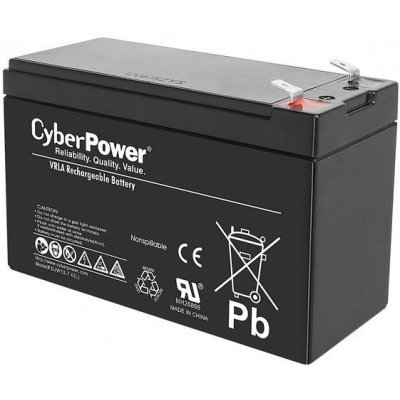 Аккумуляторная батарея для ИБП CyberPower 12V7.2Ah B11-0000062-00 (B11-0000062-00), арт: 242244 -  Аккумуляторные батареи для ИБП CyberPower