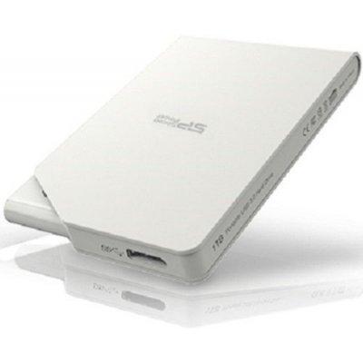 Внешний жесткий диск Silicon Power SP020TBPHDS03S3W 2Tb белый (SP020TBPHDS03S3W)Внешние жесткие диски Silicon Power<br>Жесткий диск Silicon Power USB 3.0 2Tb S03 SP020TBPHDS03S3W Stream 2.5 белый<br>