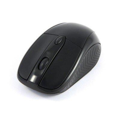 Мышь Gembird MUSW-219 черная (MUSW-219)Мыши Gembird<br>Мышь беспров. Gembird MUSW-219, черн, 3кн.+колесо-кнопка, 1600DPI, 2.4ГГц<br>
