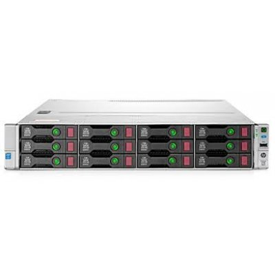 Сервер HP ProLiant DL80 (840626-425) (840626-425)Серверы HP<br>DL80 Gen9, 1(up2)x E5-2603v4 6C 1.7GHz, 1x8GB-R DDR4-2400T, B140i/ZM (RAID 1+0/5/5+0) 2x1TB 6G SATA 7.2K HP (8 LFF 3.5 HP) 1x550W NHP NonRPS,2x1Gb/s,noDVD,iLO4.2, Rack2U, 3-1-1,Rails inc.<br>