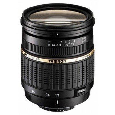 Объектив для фотоаппарата Tamron Объектив SP AF 17-50мм F/2.8 XR Di II LD Aspherical IF Canon (A16E)Объективы для фотоаппарата Tamron <br>Объектив SP AF 17-50мм F/2.8 XR Di II LD Aspherical IF для Canon<br>