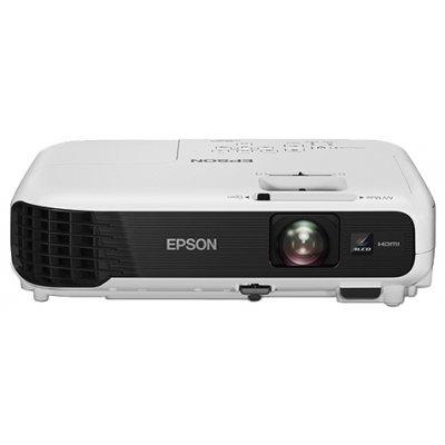 Проектор Epson EB-X04 (V11H717040)Проекторы Epson<br>портативный проектор<br>технология LCD x3<br>разрешение 1024x768<br>световой поток 2800 лм<br>контрастность 15000:1<br>подключение по VGA (DSub), HDMI<br>вывод изображения с USB-флэшек<br>вес 2.4 кг<br>