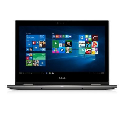 Ультрабук-трансформер Dell Inspiron 5368 (5368-5438) (5368-5438)Ультрабуки-трансформеры Dell<br>Трансформер Dell Inspiron 5368 Core i3 6100U/4Gb/500Gb/Intel HD Graphics 520/13.3/IPS/Touch/FHD (1366x768)/Windows 10/black/WiFi/BT/Cam<br>