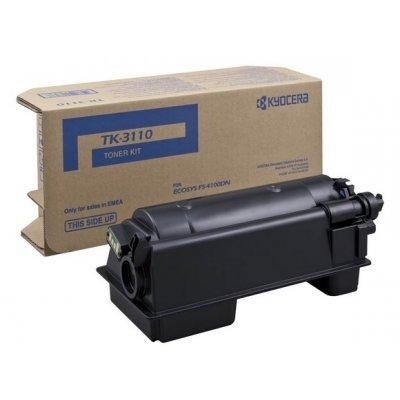 Тонер-картридж для лазерных аппаратов Kyocera TK-3110 для FS-4100DN (15 500 стр) (1T02MT0NLV)Тонер-картриджи для лазерных аппаратов Kyocera<br><br>