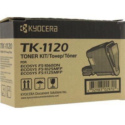 Тонер-картридж для лазерных аппаратов Kyocera TK-1120 для FS-1060DN/1025M/1125M(3000 стр) (1T02M70NXV) картридж colouring cg tk 1120 для kyocera fs 1060dn 1125mfp 1025mfp