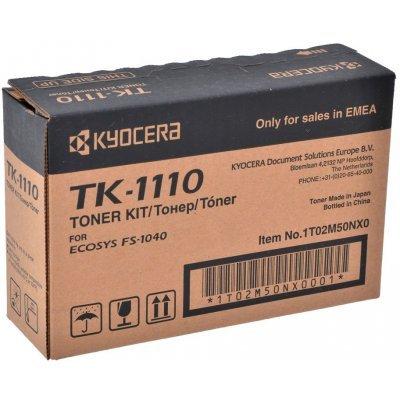 Тонер-картридж для лазерных аппаратов Kyocera TK-1110 для FS-1040/1020MFP/1120MFP (2 500 стр) (1T02M50NXV) tk1110 bk compatible toner cartridge for kyocera tk 1110 tk 1111 tk 1112 fs 1020 fs 1040 fs 1120 fs 1120mfp 2 5k free shipping