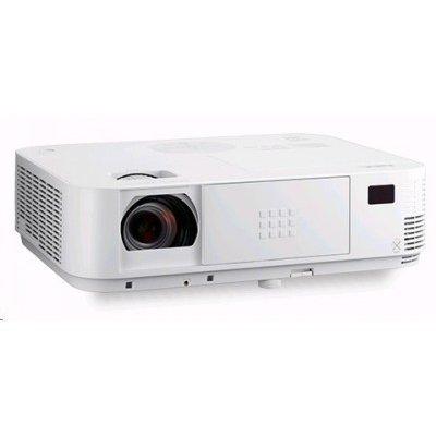 Проектор NEC projector M323W (M323W)Проекторы NEC<br>DLP, 1280 x 800, 3200lm, 10000:1, 3,48kg, D-Sub, HDMI, RCA, RJ-45, Lamp:8000hrs<br>