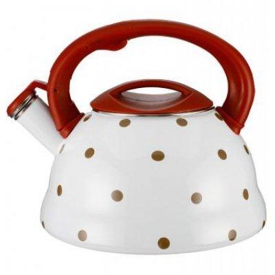 Чайник Zeidan Z-4116-03 (Z 4116-03)Чайники Zeidan <br>Z-4116-03 Чайник со свист 3,2л.,нерж.сталь, инд.дно, подвиж.бакел.ручка Zeidan<br>