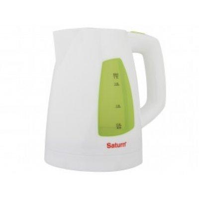 Электрический чайник Saturn ST-EK 8418 белый (ST-EK 8418)Электрические чайники Saturn <br>ST-EK 8418 белый Чайник1.7л  STRIX Saturn<br>