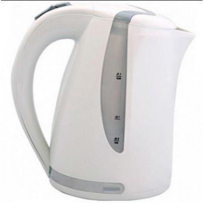 Электрический чайник Smile WK 5118 белый/серый (WK 5118 (бел/сер))Электрические чайники Smile <br>WK 5118 белый/серый Чайник1,7 диск SMILE<br>