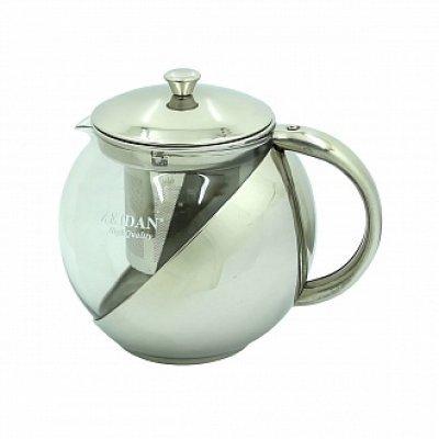 Чайник Zeidan Z-4104 (Z 4104)Чайники Zeidan <br>Z-4104 Чайник заварочный 950 мл., термост.стекло,нерж.сталь Zeidan<br>