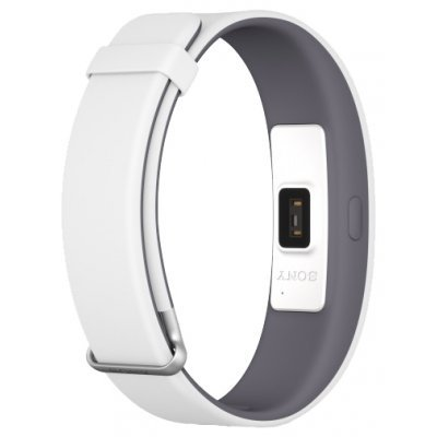 все цены на Фитнес-браслет Sony SmartBand 2 SWR12 белый (SWR12 White) онлайн