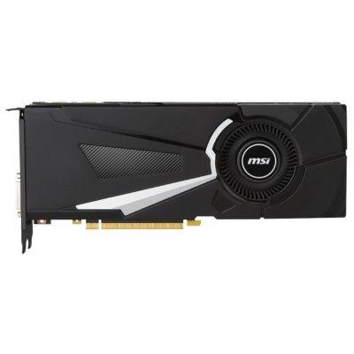 Видеокарта ПК MSI GeForce GTX 1080 1632Mhz PCI-E 3.0 8192Mb 10010Mhz 256 bit DVI HDMI HDCP (GTX 1080 AERO 8G OC)