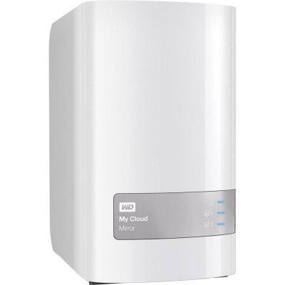Сетевой накопитель NAS Western Digital WD My Cloud Mirror 16Tb (WDBWVZ0160JWT-EESN) (WDBWVZ0160JWT-EESN)Сетевые накопители NAS Western Digital<br>Процессор 1.2 GHz, Drives/bays 2, Desktop/pedestal, 2xНаличие USB 3.0, 1xRJ45, Память 512 Мб, DDR3, Объем накопителя на жестком диске 16Тб, Аксессуары в комплекте Ethernet cable,AC adapter,Quick Instal<br>